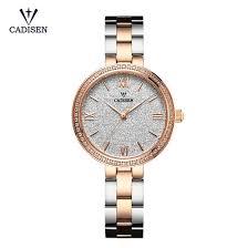 Shop <b>Cadisen</b> Fashion <b>Women Watches</b> Quartz <b>Luxury</b> Stainless ...