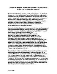 Higher English Guide   A View From the Bridge   Higher English Help
