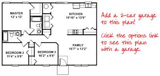 Aspen   Bedroom Bath Floorplan in Central Oklahoma   Red Door    Aspen Floor Plan