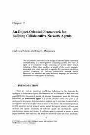 an object oriented framework for building collaborative network inside