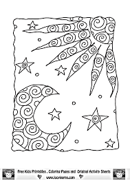 Small Picture sun moon coloring page kid stuff Pinterest Moon Adult