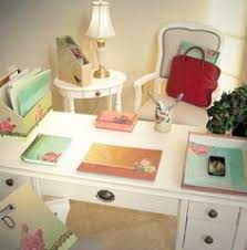 cottage chic office ciao bella accessories from myprettyofficecomi chic office desk