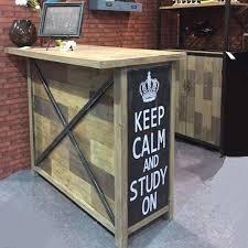 huang sheng wood bar american country wood wrought iron bar reception retro style industrial loft american retro style industrial furniture desk
