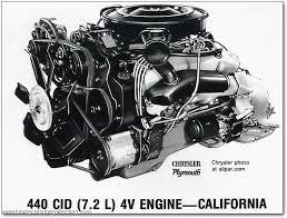 dodge engines 440 parts