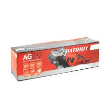 Сетевая угловая <b>шлифовальная машина Patriot AG</b> 232 00 ...