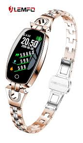 China Lemfo <b>H8 Smart Watch</b> Women 2018 Waterproof Heart Rate ...