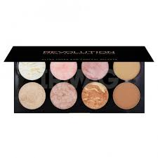 <b>Палетка румян Makeup Revolution</b> Golden Sugar (13 г) - IRMAG.RU