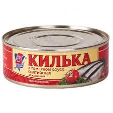 Консервы рыбные <b>5 морей килька</b> балтийская с томатном соусе ...