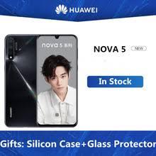 Оригинальный мобильный <b>телефон HuaWei Nova</b> 5 6,39 &quot