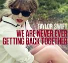 We Are Never Ever Getting Back Together album by Taylor Swift
