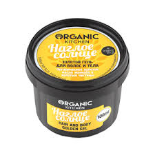 <b>Золотой гель для</b> волос и тела Organic kitchen НАГЛОЕ СОЛНЦЕ ...