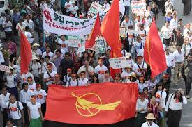 Image result for burmese student protest