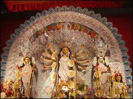 colors of durga puja a date delhi durga puja at greater kailash delhi