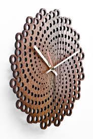 Wooden <b>wall clock</b> Moku Fuji | Декоративные <b>настенные часы</b> ...