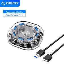 <b>ORICO</b> 4 <b>Port USB</b> 3.0 HUB Splitter High Speed Micro Multi HUB ...