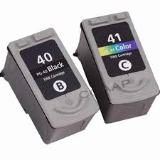 2 Compatible <b>PG 40</b> / <b>CL 41 ink cartridge</b> for canon PIXMA MP-150 ...