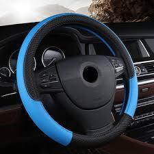 Online Shop <b>PU Leather Universal Car</b> Steering-wheel Cover 38CM ...