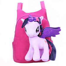 <b>Lovely Cute Baby Kid</b> Schoolbag Cartoon My Little Pony BagPacks ...
