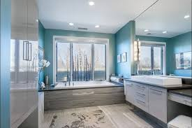 blue bathroom tiles ideas pictures home: awesome bathroom paint ideas for elegant long baths bigcarrycom with
