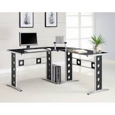full size of desk overwhelming l shape computer desks black glass tabletop metal and glass captivating home office desk