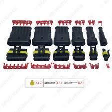 <b>1set</b> Auto <b>Waterproof</b> 1 2 3 4 5 6 Pin Way Electrical Wire Connector ...