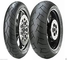 Pair Tyres Moto Pirelli <b>Diablo</b> Rear for Honda <b>CB</b> 1300 ABS/S ABS ...