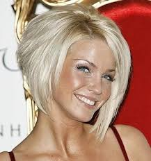 Platinum blonde bob hairstyle in 2013