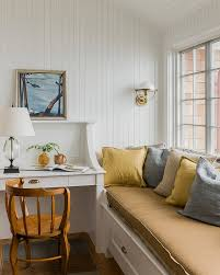 view in gallery a relaxing window seat adds to the ambiance of the small home office design beautiful relaxing home office