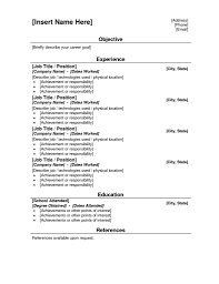 example of a simple resume getessay biz examples of a simple resume norcrosshistorycenter throughout example of a simple