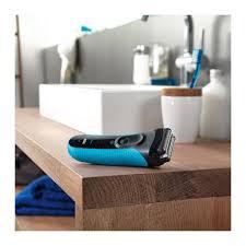 <b>Бритва</b> сетчатая <b>Braun Series</b> 3 <b>3045s</b>, голубой/черный купить в ...