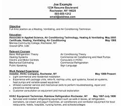 hvac sales resume Lewesmr