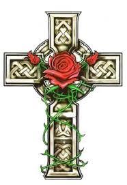 Эмблема розы и креста
