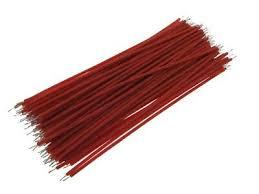 【4CM】 <b>30AWG</b> Standard <b>Jumper Wire</b> Pre-cut Pre-soldered - Red ...