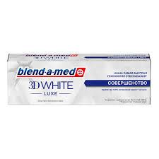<b>Зубная паста</b> Blend-a-<b>med</b> 3D <b>White</b> Luxe Совершенство