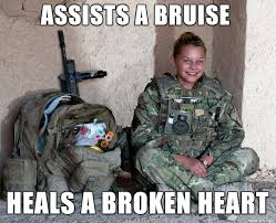 oc) Ridiculously Photogenic British Army Medic - Meme on Imgur via Relatably.com