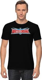 <b>Футболка классическая Printio WrestleMania</b> #757769