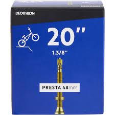 "<b>КАМЕРА BMX 20""X1</b>.<b>3/8 PRESTA</b>/ ETRTO 32-40/438-451 BTWIN ..."