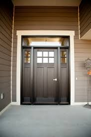 It Is Not Just A Front Door It Is A Gate White Trim And Front Doors - Black window frames for new modern exterior