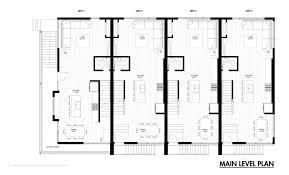 Emerson Rowhouse   Meridian Architecture   ArchDailyFloor Plan