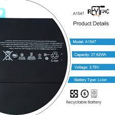REYTRIC A1547 Replacement Battery Compat- Buy Online in ...