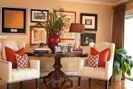 wall decor collage family room traditional with container plant wall decor beige wall chic family room decorating