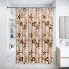 Штора для ванной комнаты «<b>Seabed</b> Sight» 180x180 см цвет ...