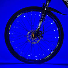 1x <b>Bike</b> Light <b>Bicycle</b> Cycling <b>Spoke</b> Wire <b>Tire</b> Tyre Silicone LED ...