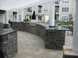patio outdoor stone kitchen bar:  images about outdoor covered kitchens on pinterest outdoor living kitchen grill and concrete patios