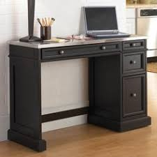 home styles traditions black utility desk with stainless steel top 39095 black computer desks home