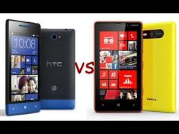 Сравнение Nokia Lumia 820 и HTC Windows Phone 8S Какой ...