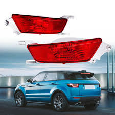 car <b>rear bumper</b> fog lights lamp <b>left</b>/<b>right</b> with bulb for range rover ...