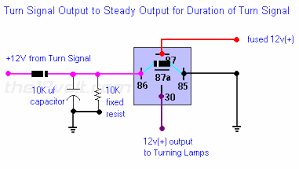 relay for turn signal brake priority posted image