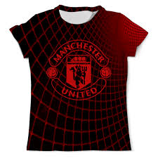 "Футболка с полной запечаткой (мужская) ""<b>Манчестер Юнайтед</b> ..."