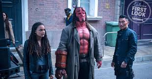 David <b>Harbour</b> teases <b>Hellboy</b> in exclusive first look | EW.com